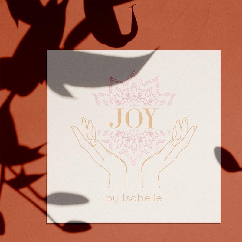 """Identité visuelle pour """"Joy by Isabelle"""""""