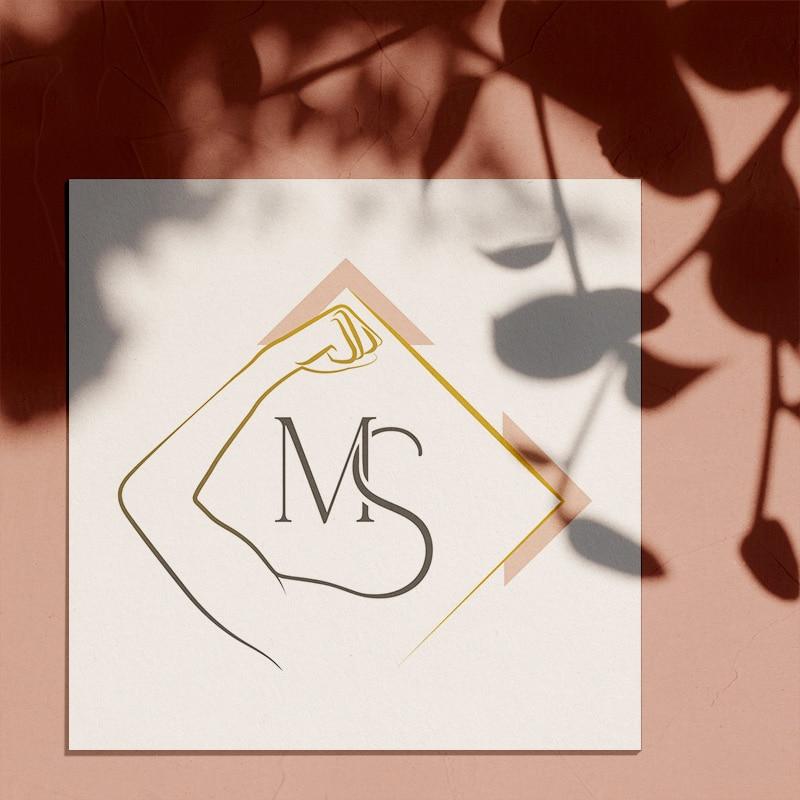 Identité visuelle pour Marylou Sidibé