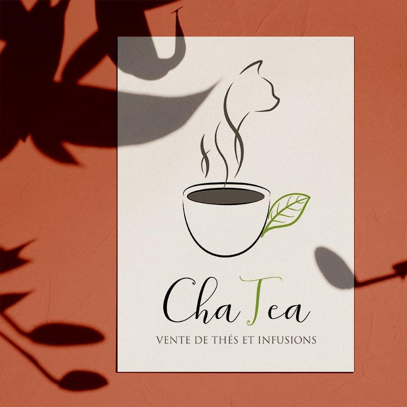"""Logotype """"ChaTea"""""""