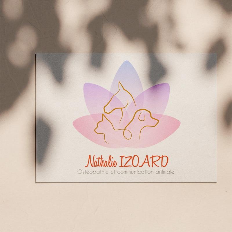 Logotype pour Nathalie Izoard