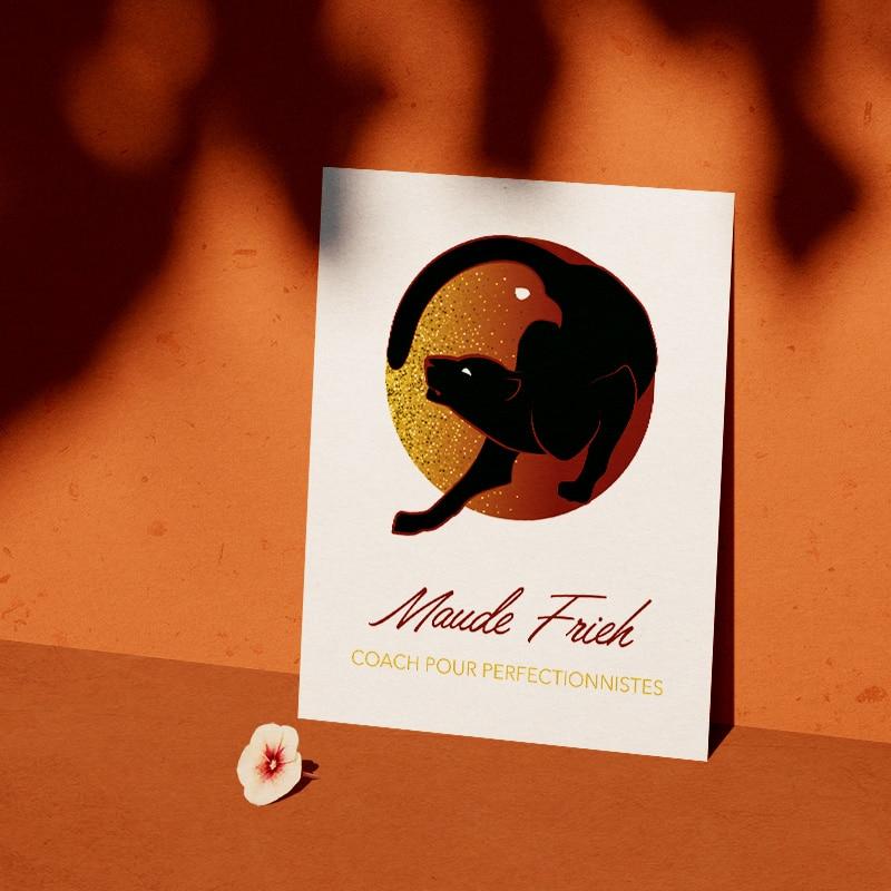 Identité visuelle pour Maude Frieh