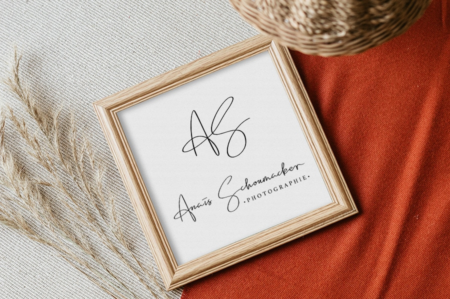 """Identité visuelle pour """"Anaïs Schoumacker Photographie"""""""