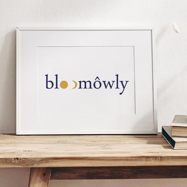 """Identité visuelle pour """"bloomôwly"""""""