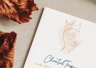 Identité visuelle pour Chantal Trupia