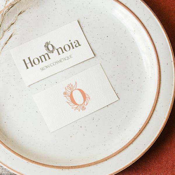 Identité visuelle pour la marque Homonoia